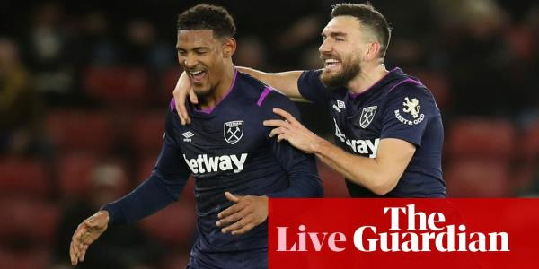 Southampton 0-1 West Ham: Premier League – as it happened