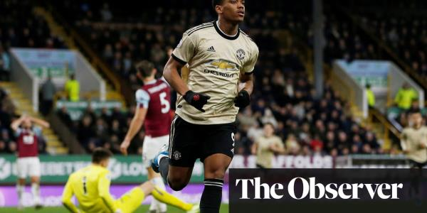 Manchester United's deadly Anthony Martial punishes sloppy Burnley