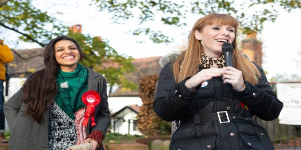 Angela Rayner Surges Ahead In Deputy Leader Race – But The Frontrunner Has Competition