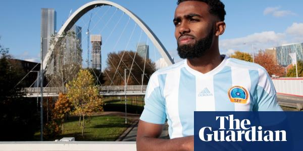 Mohamud Ali: from Manchester's roads to football history with Somalia