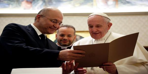 Pope backs Iraqi call for its sovereignty to be respected