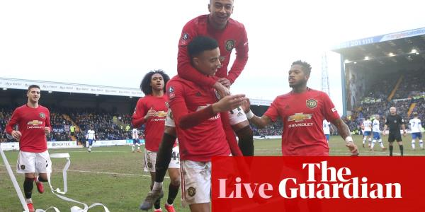Tranmere Rovers 0-6 Manchester United – as it happened