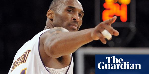 Kobe Bryant ranked at the very top in the pantheon of US sports megastars