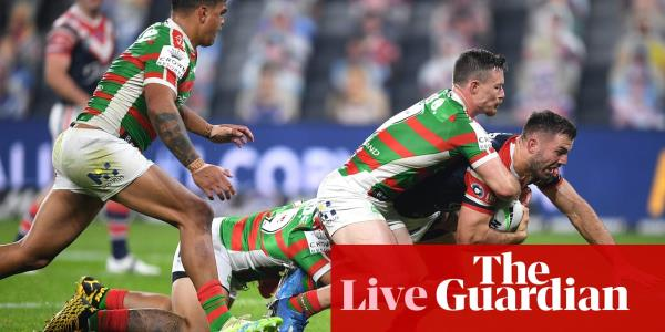 NRL: Sydney Roosters 28-12 South Sydney Rabbitohs – as it happened