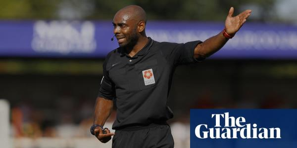 Referee Sam Allison: As a black man in this world there are challenges