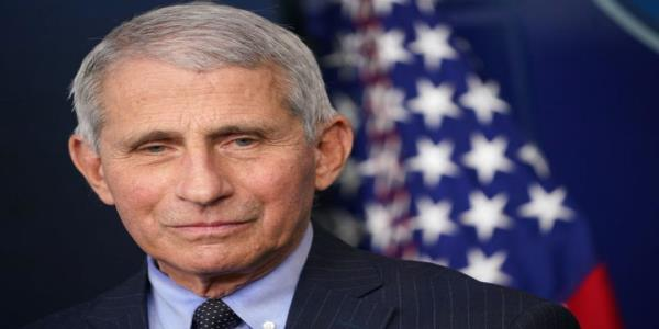 Fauci says he feels liberated in his 1st White House briefing under Biden