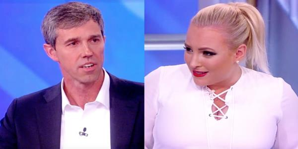 Beto O'Rourke Battles Meghan McCain Over Trump-Nazi Analogy