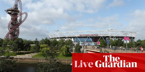 West Ham United v Manchester City: Premier League – live!