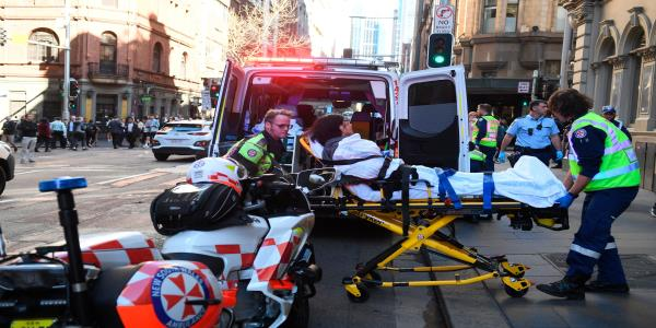 Sydney Stabbing: Three British Men Helped Take Down Knifeman