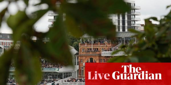 Ashes 2019: England v Australia second Test, day four – live
