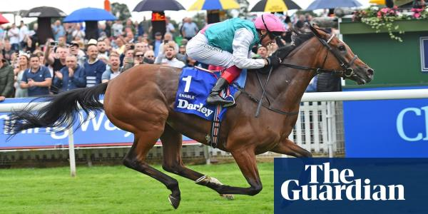 Enable wins Yorkshire Oaks to extend winning streak to 12 races