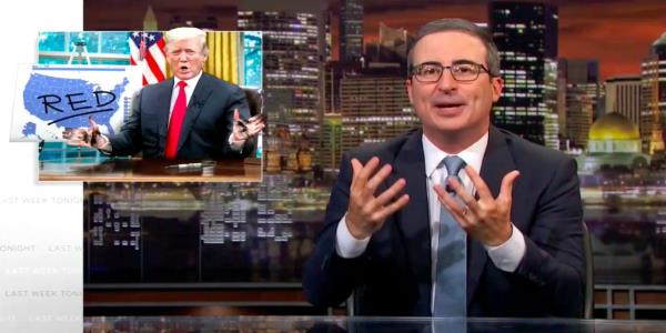 John Oliver Brutally Mocks Trump Over Alabama Map Sharpie Stunt