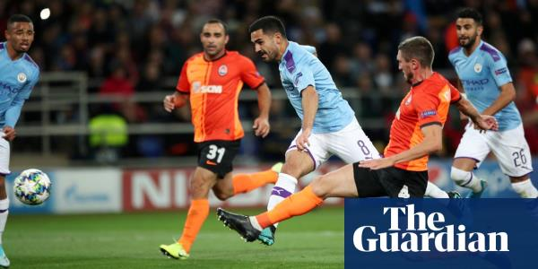 Ilkay Gündogan lights up Manchester City's easy win over Shakhtar Donetsk