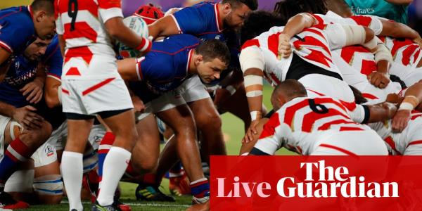 Rugby World Cup 2019: Japan v Russia in the opening game – live!