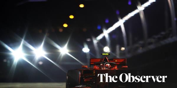 Charles Leclerc storms to Singapore F1 GP pole ahead of Lewis Hamilton