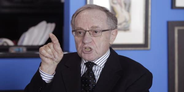 Alan Dershowitz Gets Rival Lawyer Booted From Epstein Victim's Case