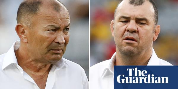 Rugby World Cup's Battle of the Big Mouths: Eddie Jones v Michael Cheika | Simon Burnton