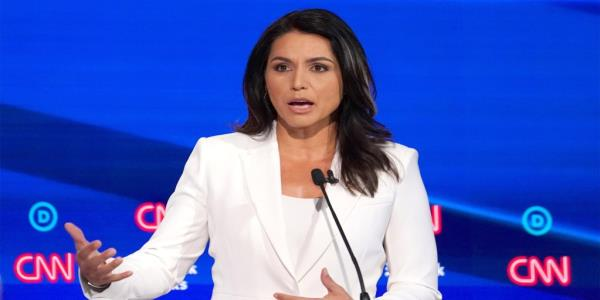 Gabbard Responds to Hillary's Russia Attacks, Challenges Her to Join Dem Primary
