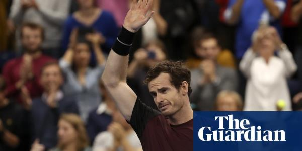Tearful Andy Murray wins first singles title since returning from injury