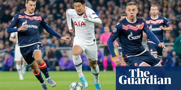 Son seems to melt away Spurs' woes, but hapless Red Star no bellwether | Barney Ronay