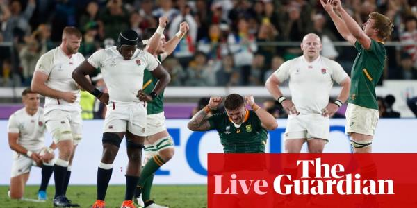 England 12-32 South Africa: Rugby World Cup 2019 final – live reaction!