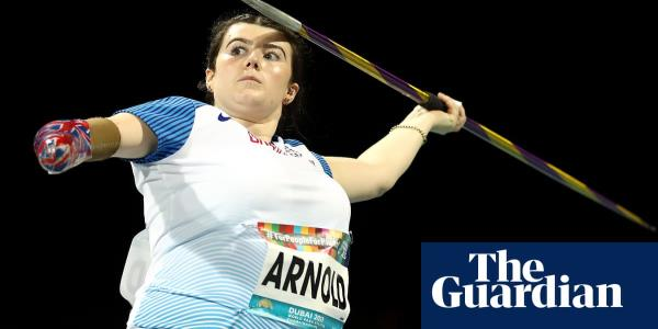 Hollie Arnold and Jonathan Broom-Edwards win World Para-Athletics gold
