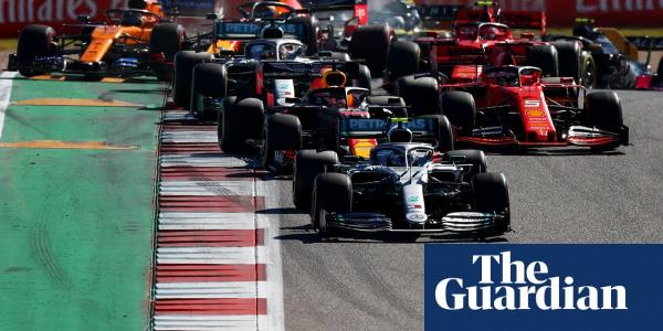 F1 reveals plans for net-zero carbon footprint and sustainable products