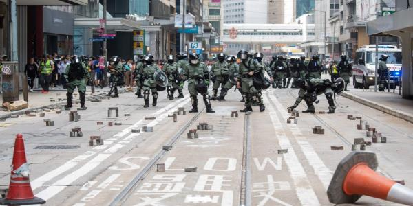 Second man dies during week of violence in Hong Kong