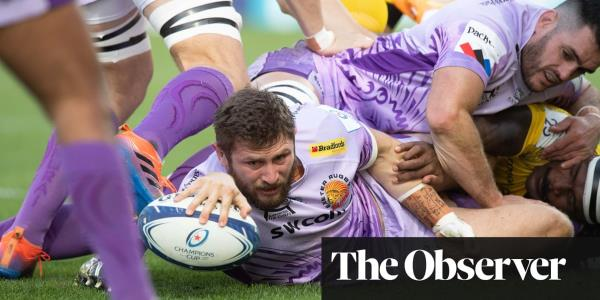 Simmonds brothers lead Exeter to rampant victory at La Rochelle
