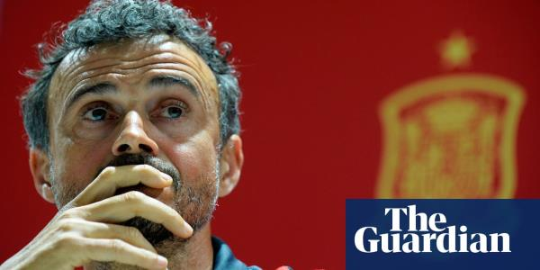 Luis Enrique makes Spain return as Roberto Moreno walks away in tears