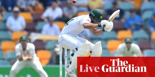 Australia v Pakistan: first Test, day one – live!