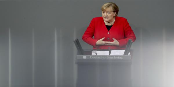 Germany's Merkel says it's essential to preserve NATO