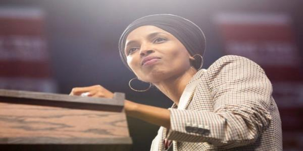 Republican running against Ilhan Omar banned from Twitter after calling for rival to be hanged