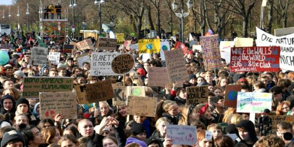 Europe joins climate protests ahead of UN meeting