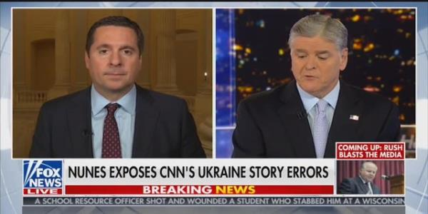 Devin Nunes Tries to Explain Away His Parnas and Giuliani Calls to Hannity