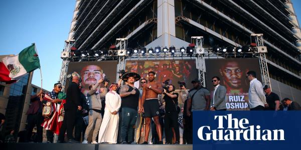 They want the money: the real reason boxing is going to Saudi Arabia