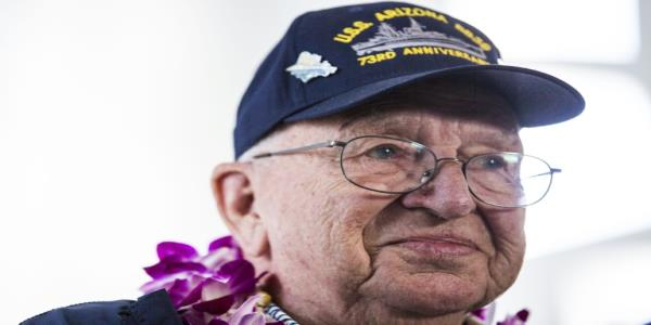 Pearl Harbor veteran to be interred on sunken ship