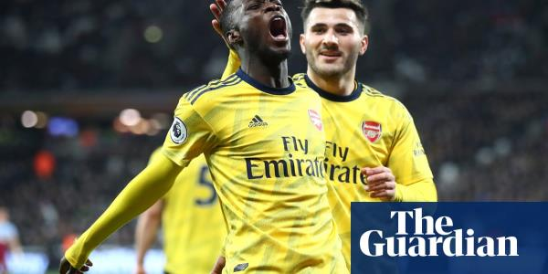 Martinelli and Pépé spark Arsenal comeback victory against West Ham