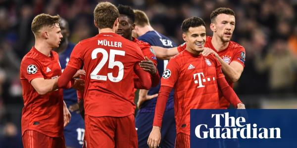 Coutinho adds finishing touch as Bayern Munich brush Tottenham aside