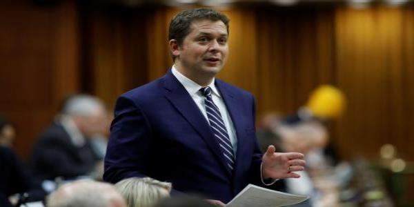 Canada Conservative leader resigns amid reports he used party funds for private school