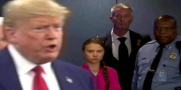 Greta Thunberg hits back at Donald Trump tweet telling her to chill