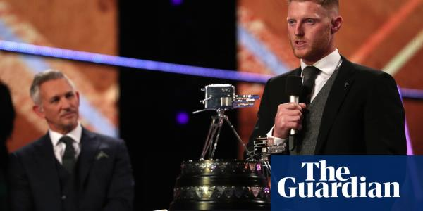 England cricketer Ben Stokes wins BBC Sports Personality of the Year award