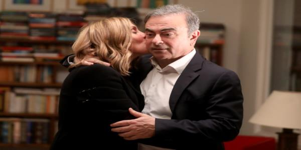 Exclusive: Im happy he did it - in Beirut, wife of fugitive Ghosn slams Japanese justice