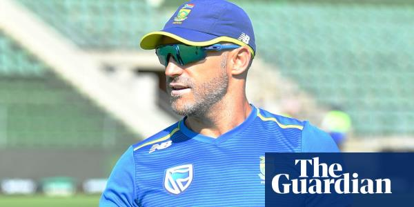South Africa's Faf du Plessis set to retire from international game this year