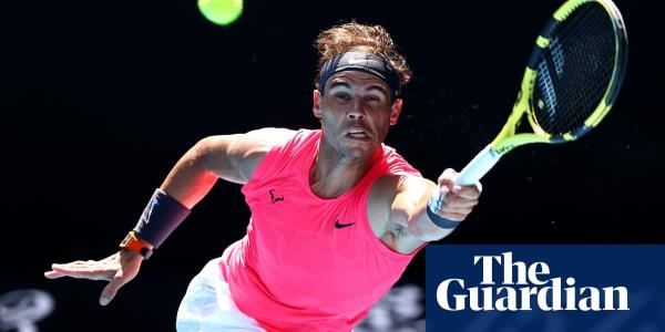 Rafael Nadal glides into second round of Australian Open and dampens title talk