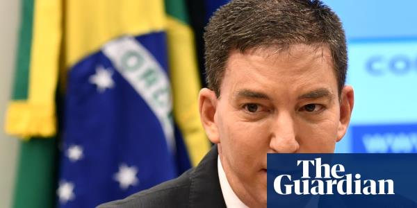 Brazilian prosecutors charge journalist Glenn Greenwald with cybercrimes