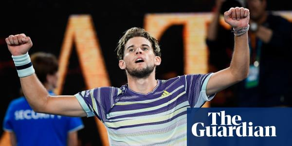 Dominic Thiem fights back to beat Zverev and reach Australian Open final
