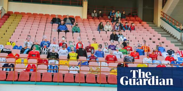 Football for dummies: Dynamo Brest play before mannequin fans in Belarus