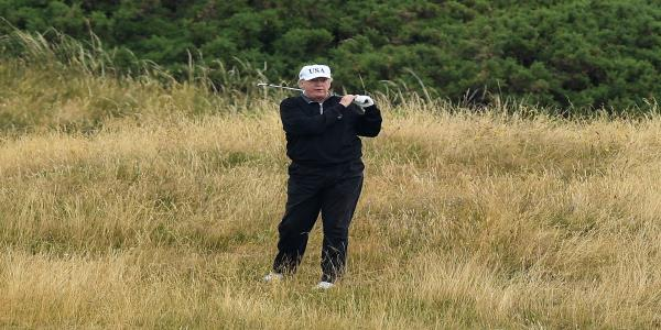 Trump Reportedly Asked US Ambassador To Help Move British Open To His Resort