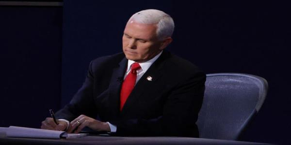 Pence evades Roe v. Wade question by bringing up Soleimani, praising Barrett